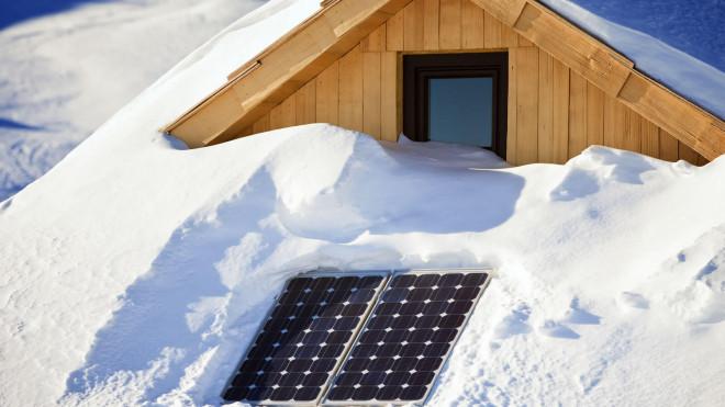 Solar im Winter